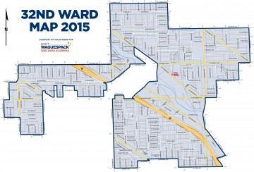 NEW 32nd Ward Map Download / PDF